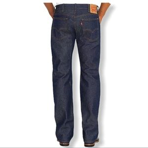 NWOT Levi's 517 Bootcut Mid Rise Dark Wash Jeans